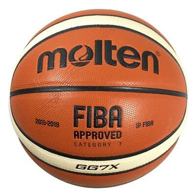 100% Genuine Molten GG7X Official FIBA Approved Indoor Basketball Size 7