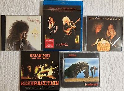 Brian May Of Queen - CDs & Bluray Bundle