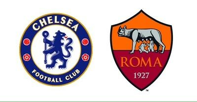CHELSEA v AS ROMA OFFICIAL PROGRAMME MINT Matchday Programme 18/10/2017