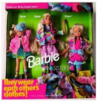Barbie Sharin Sisters Gift Set Barbie Stacie Skipper by Mattel by Mattel
