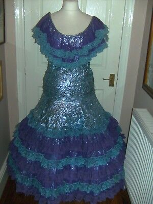 Pantomime Dame Finale Dress Theatrical Stage Show Costume Drama Panto