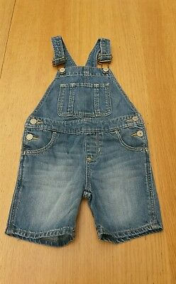 Salopette short jean fille 18/24 mois Baby gap