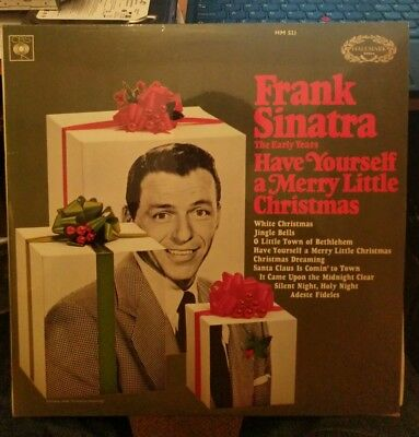 Frank Sinatra – Have Yourself A Merry Little Christmas LP – HM 521 – VG
