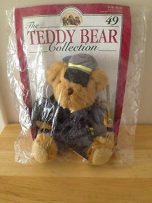 The Teddy Bear Collection  -  No.49  Pete The Park Keeper