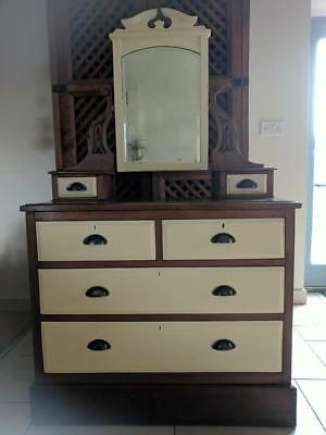 victorian chest of drawers / dressing table...uk delivery available