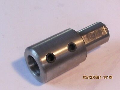 SHAFT   COUPLING  Step-Down 10 MM X  8 MM  Steel     Metric   1 Pc