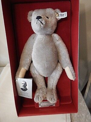 "Margarete STEIFF Giengen - Brenz 12"" Teddy Bear GROWLER 1902 MINT In BOX"