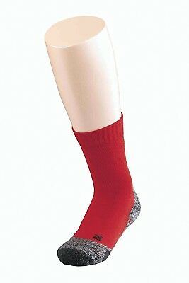 (Fire, 27-30) - Falke TK 2 Children's Socks - Red, 9-11.5. Free Delivery