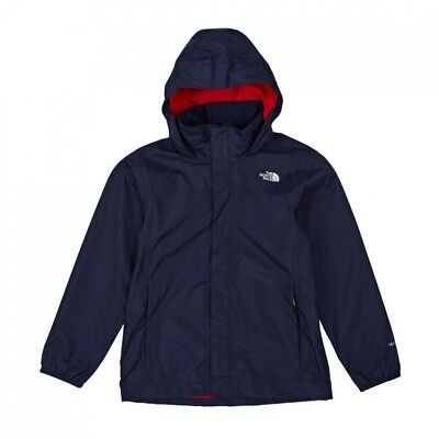 (X-Small, Cosmic Blue/Fiery Red) - Jacket Kids The North Face Resolve