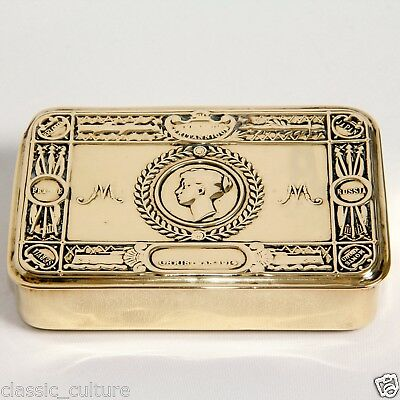 Princess Mary Christmas 1914 Gift Box Brass WWI Antique 1914