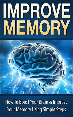 how to improve your memory !!! 100% Results (eBook-PDF file)