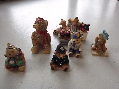 Collection of Vintage Peter Fagan Teddy Bears