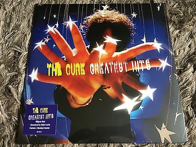 The Cure - Greatest Hits -Sealed Vinyl LP Friday I'm In Love Lullaby Close To Me