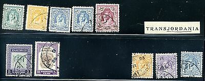 Lot of 10 Jordan Middle East Stamps