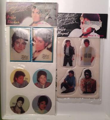 Micheal Jackson Puffy Fridge magnets and stickers,new old stock