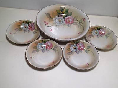 Nippon hand painted Berry set
