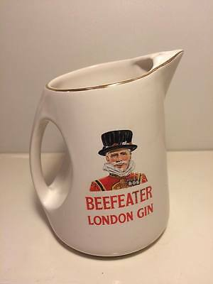 """Vintage Wade Pottery BeefEater London Gin 6"""" pitcher"""