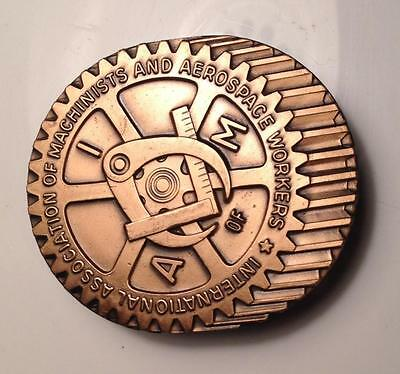 International association of Machinists and Aerospace Workers Belt Buckle