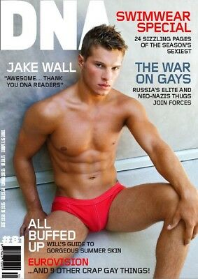 DNA #81, Jake Wall, gay interest