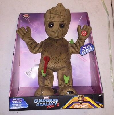 Disney Store - Guardians of the Galaxy Volume 2 - Dancing Groot - NEW IN BOX