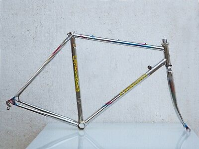 PATELLI Steel Frame and Fork - COLUMBUS SL - Fully Chromed