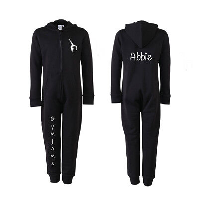 Gymjams by AME, Gymnastics all in one, Personalise, add gymnast's name on back.