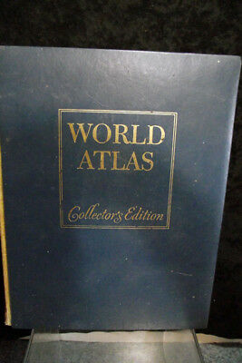Hammond 1977 World Atlas Collectors Edition