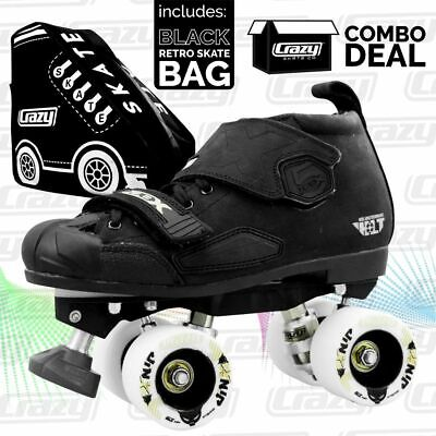 Neon Derby Skates - Rollerderby Mens Ladies Kids Speed Quad Crazy Rollerskates !
