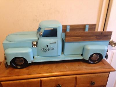 Don Julio 1942 Blue Pick-Up Panel Truck 1942 Tequilla Bar Advertising Display