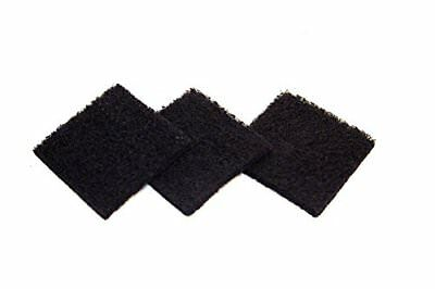 Exaco ECO 2500 Pack of Three Replacement Carbon Filters For Kitchen Compost...