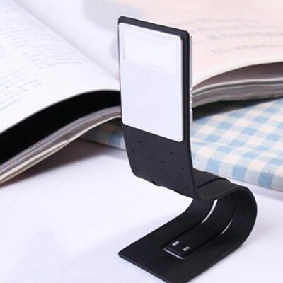 Portable USB Rechargeable LED Book Light Flexible Clip On Night Reading Lamp Kit