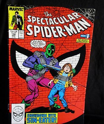 """The Spectacular Spider-Man"" #136 Comic Book (1988, Marvel)"