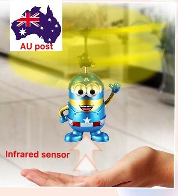 Flying Superhero Captain America Minion RC Aircarft Toy,fun Toy 2017 Christmas