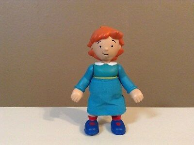 "Caillou Sister Figure Rosie Cake Topper Toy Pvc Doll Pbs Kids 3"" Htf"