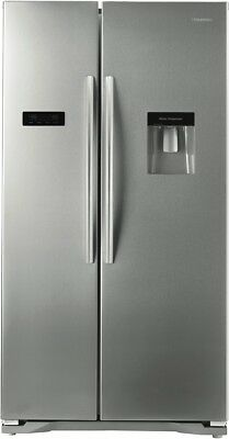 NEW Hisense HR6SBSFF610SW 610L Side By Side Refrigerator