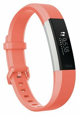 Fitbit Alta HR Heart Rate Fitness Band Coral - Small. From Argos on ebay V100331