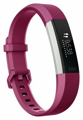 Fitbit Alta HR Heart Rate Fitness Band Fuschia - Large. From Argos on eb V100331