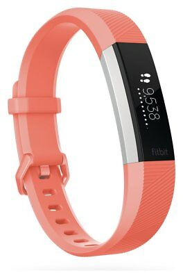 Fitbit Alta HR Heart Rate Fitness Band Coral - Large. From Argos on ebay V100331