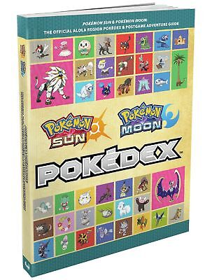 Official Pokemon Sun and Moon Pokedex and Guide From the Argos Shop on ebay