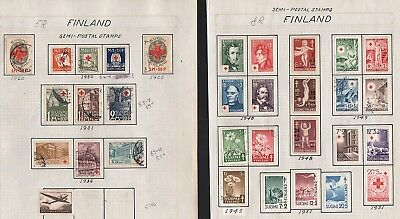 Finland   Lot Of Old Stamps #5R, 8R