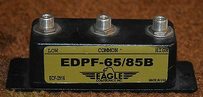 Eagle Comtronics Model EDPF 65/85B Bandpass Filter
