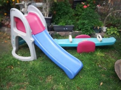 Fisher Price Slide And Seesaw Good Condition