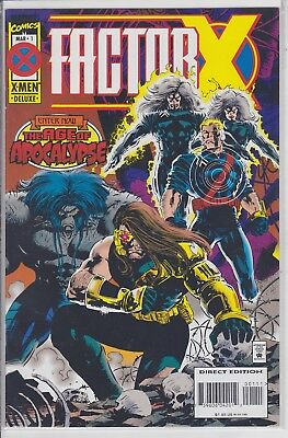 Factor X #1 Marvel Comics Age of Apocalypse X-men Deluxe first issue