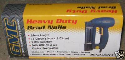BRAD NAILS. 2 FOR 1 OFFER.  25mm. 18 GUAGE.  BRAND NEW.