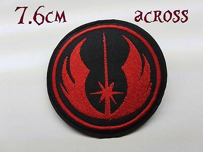 Quality Iron/Sew on Rebel Alliance Star wars Patch funny biker motorcycle empire