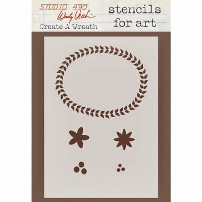 Stampers Anonymous Wendy Vecchi Studio Stencil Collecti