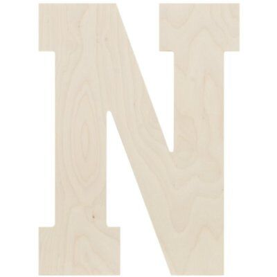 MPI Baltic Birch Collegiate Font Letters and Numbers, 1