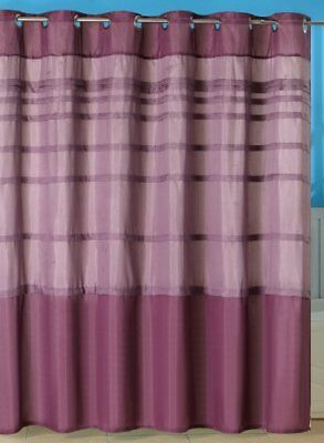 Lavish Home Orleans Pintuck Shower Curtain with Grommet