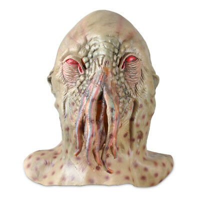 horror latex dr octopus krake kopf hals maske halloween karneval kost m monster eur 17 99. Black Bedroom Furniture Sets. Home Design Ideas