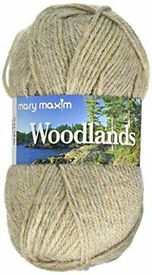 Mary Maxim Woodlands Yarn, Beige Heather
